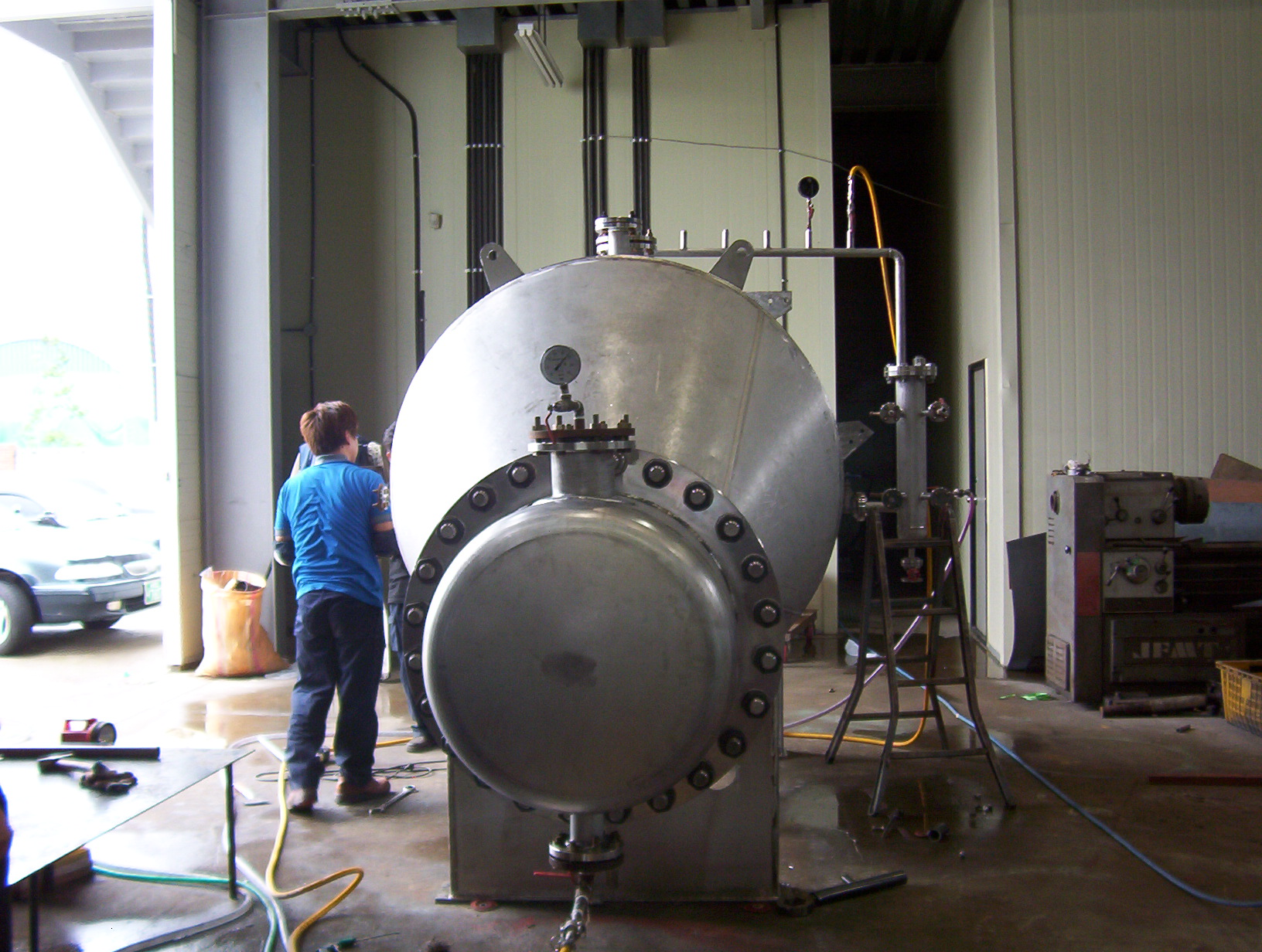 Re-Boiler for OTTOGI Corp.